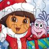 Dora kerst puzzel