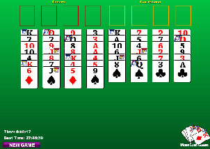 Free Cell Solitaire spel