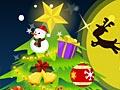 Schattige kerstboom